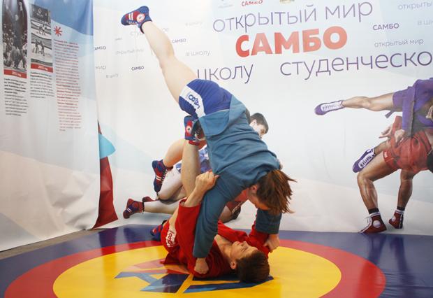 Призовые места заняли псковские самбисты наVВсероссийской гимназиаде