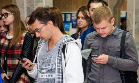 студенты, телефоны