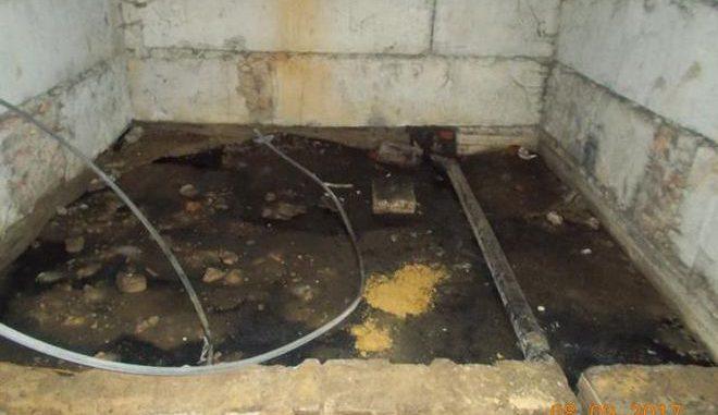 подвал, канализация