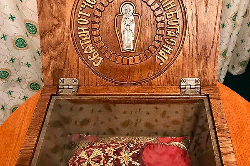 ВОрел привезут башмачок святителя Спиридона Тримифунтского