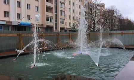 фонтан бульвар победы