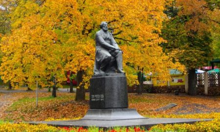 тургенев памятник