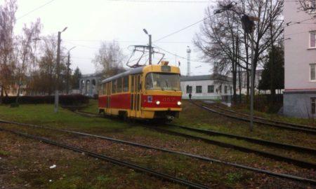 трамвай пути