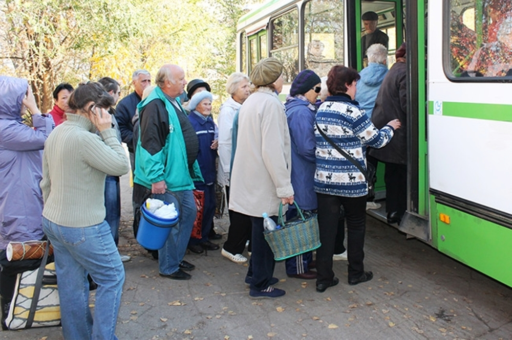 Сезон дачно-огородных перевозок начнётся 13 апреля