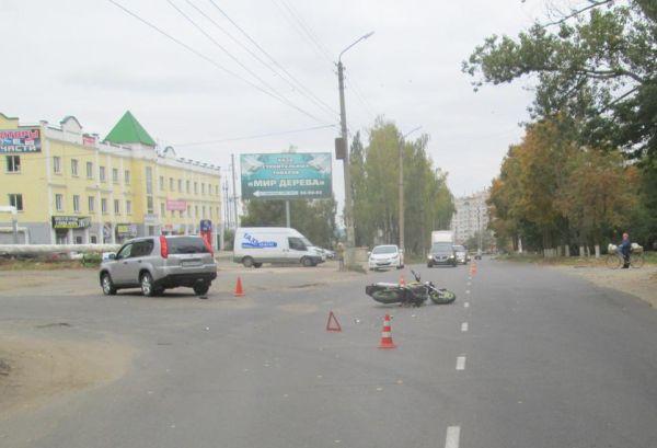 ДТП Бурова, мотоцикл