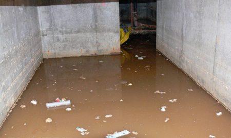 подвал вода