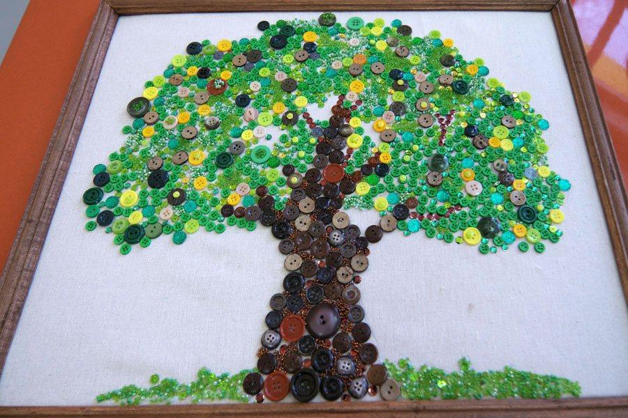 дерево, поделки