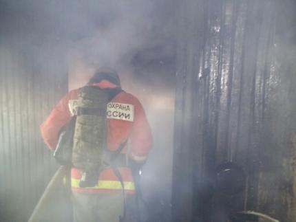 пожар, дым