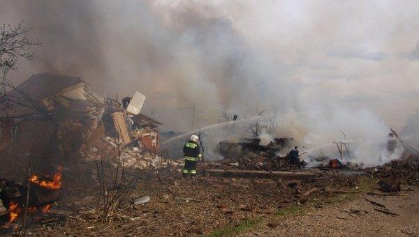 взрыв на складе