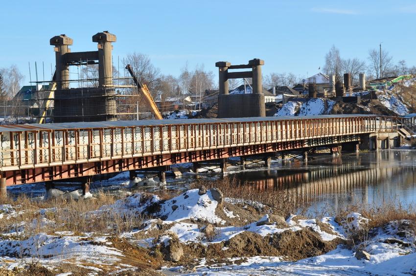 мост сосна Ливны