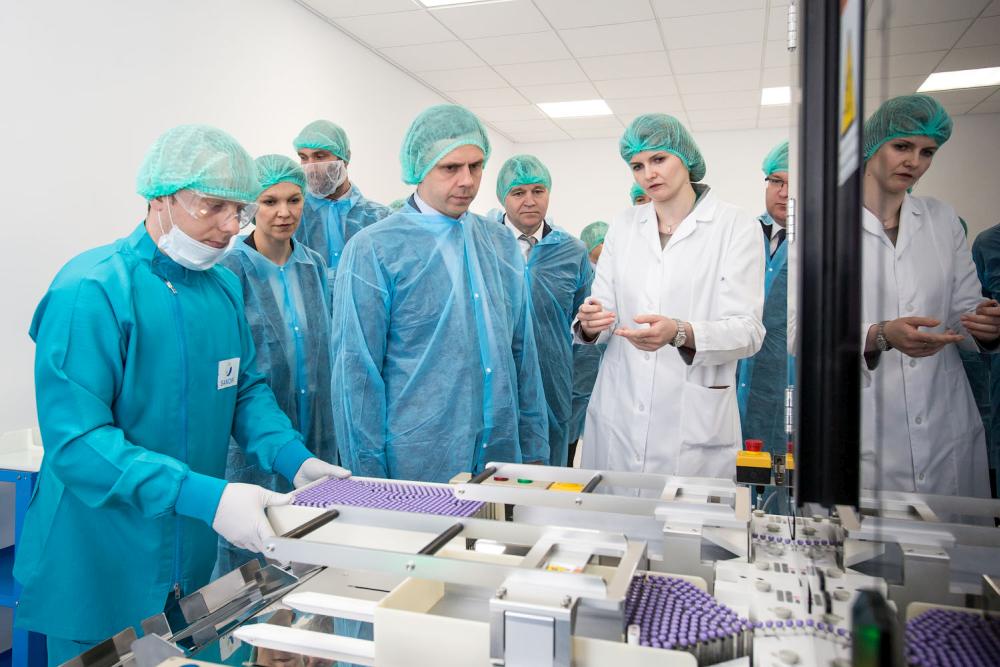 Клычков запустил новое производство на«Санофи-Авентис-Восток»