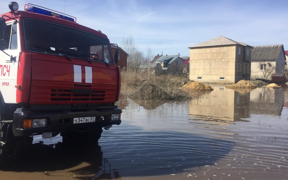 паводок, подтопление домов