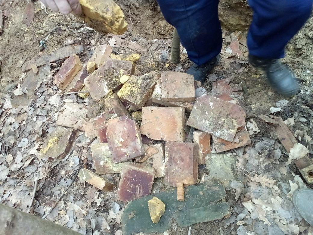 Неподалёку отдеревни Пешково Знаменского района отыскали 31 мину