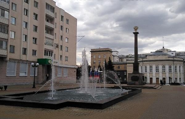 фонтан, Бульвар Победы