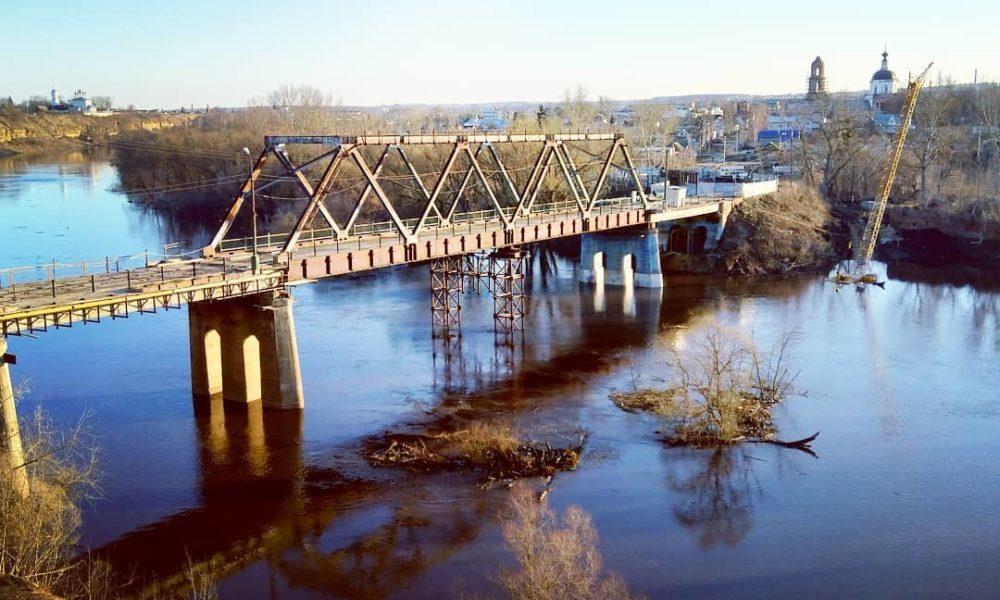 мост, зуша