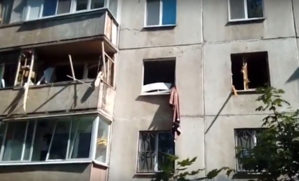 бурова, окна