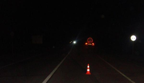 ночное ДТП, грузовик