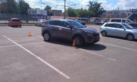 ДТП на парковке