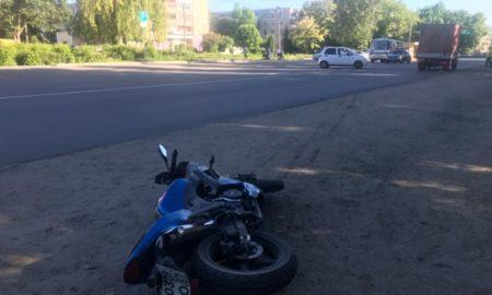 мотоцикл, ДТП