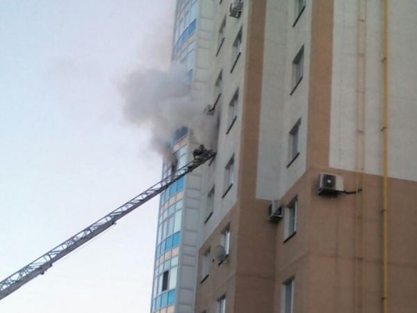 пожар, многоэтажка