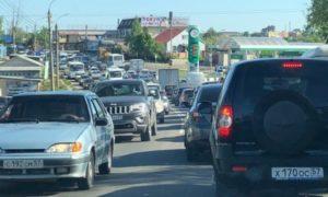 пробка Болховское шоссе