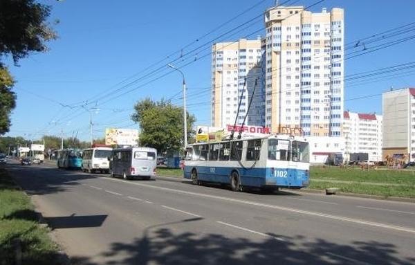 троллейбус, маршрутка