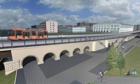 красный мост, проект