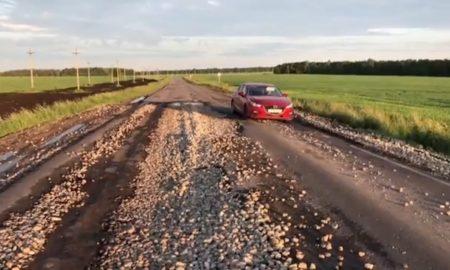 Орел - Залегощь, щебенка, сельская дорога