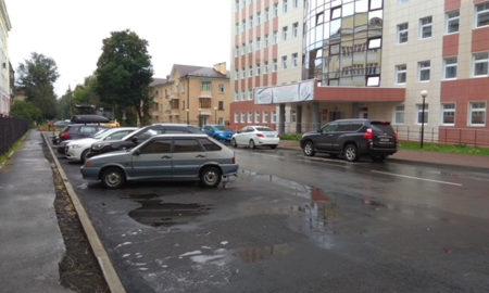 парковка НКМЦ