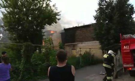 карачевская, пожар