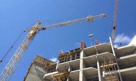 стройка, краны, строительство