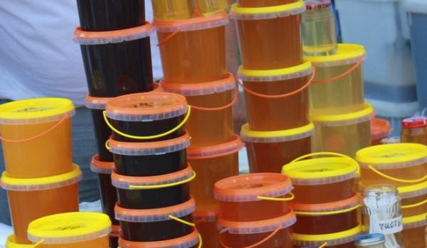 мед, выставка меда