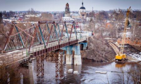 мценск, зуша, мост