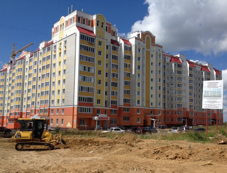 новостройка, строительство, МКД, многоэтажка