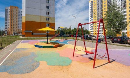 Орелстрой, новостройки, строительство, детская площадка
