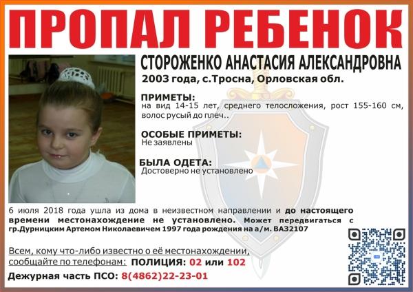 Анастасия Стороженко