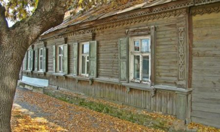 старый дом, памятник
