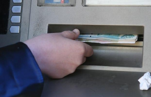 банкомат, деньги