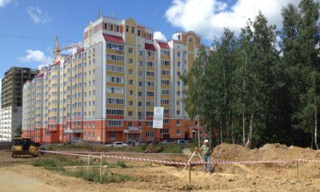 новостройка, строительство, дом, землемер