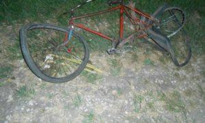 смертельное дтп, велосипед