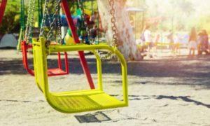 качели, дети, детская площадка