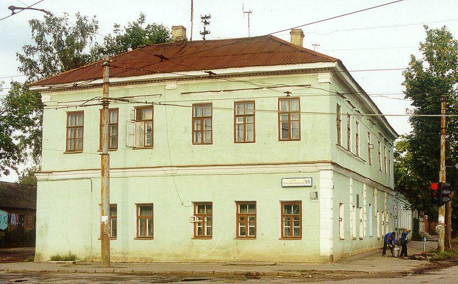 дом на старомосковской 55