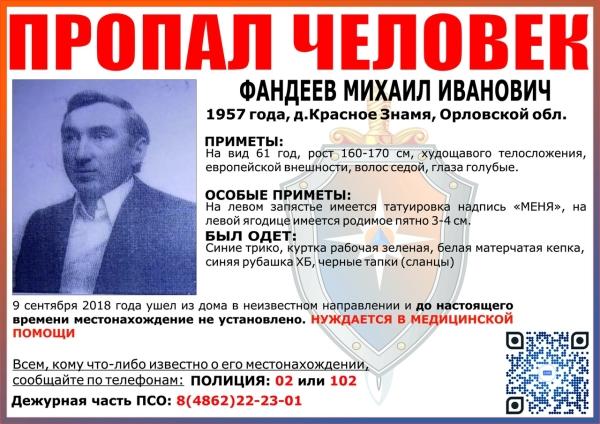 Михаил Фандеев