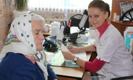 бабушка, врач, фап, медик