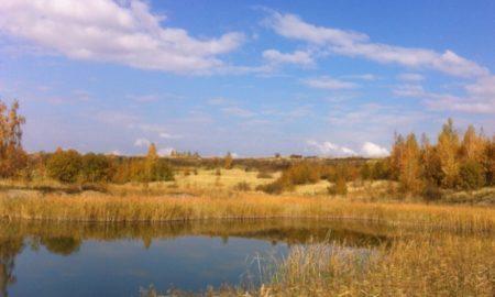 озеро, погода, осень