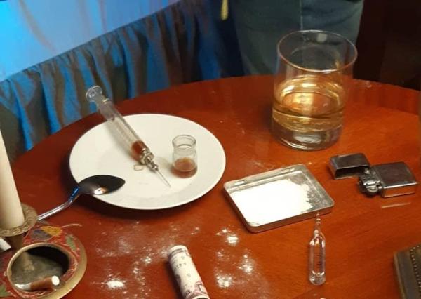 притон, наркотики