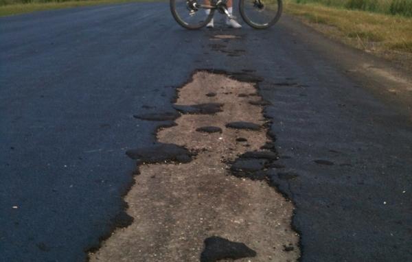 ремонт дороги, асфальт