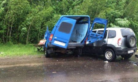 Нива, Форд, смертельная авария