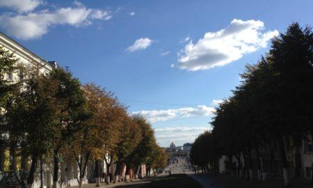 Ленина, солнце, погода