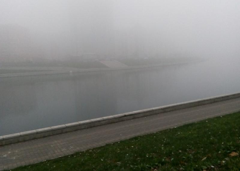 туман, Ока, погода